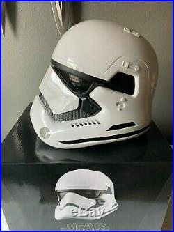 Anovos Star Wars TFA First Order STORMTROOPER ABS Wearable Prop Replica Helmet
