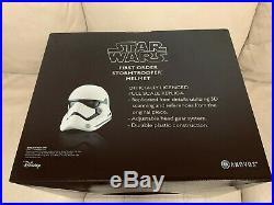 Anovos Star Wars TFA First Order STORMTROOPER ABS Wearable Prop Replica Helmet 1