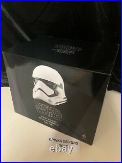 Anovos Star Wars TFA First Order STORMTROOPER Standard ABS Plastic Helmet NEW