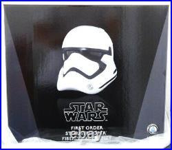 Anovos Star Wars The Force Awakens First Order Fiberglass Stormtrooper Helmet