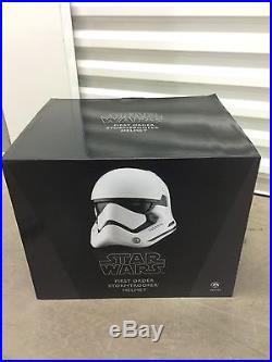 Anovos Star Wars The Force Awakens First Order Stormtrooper Helmet