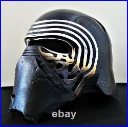 Anovos Star Wars The Force Awakens Kylo Ren Premier Line Fiberglass Helmet Nib