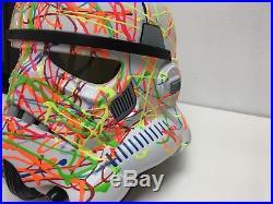 Art Piece Star Wars Stormtrooper adult Helmet. 1 of 5 unique piece of art Signed