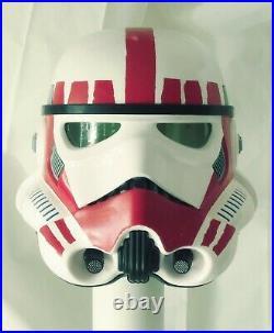 Black Series Shocktrooper Star Wars Stormtrooper Helmet Prop Replica