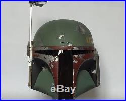 Boba Fett Helmet Prop 11 Full Life Size Star Wars Prop Esb Solo Storm Trooper