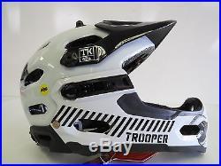 Brand New Star Wars Storm Trooper Edition Super 2R Full Frontal MIPS Mtb Helmet