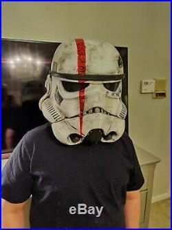 Custom Star Wars Black Series Imperial Stormtrooper Helmet Electronic Voice Chan