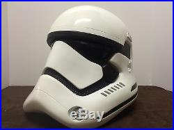 Disney Anovos Star Wars The Force Awakens FIBERGLASS Stormtrooper Helmet