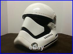 Disney Star Wars The Force Awakens First Order Stormtrooper Helmet