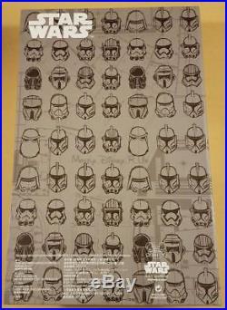 Disney Store D23 2017 Expo Star Wars Stormtrooper Helmet 20 Pin Set LE 500