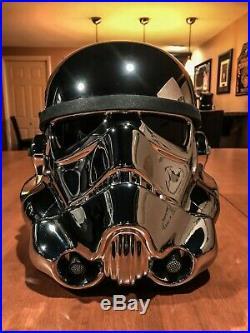 EFX Star Wars 40th Anniversary Chrome Storm trooper Helmet Celebration 2017 #130
