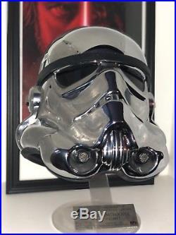 EFX Star Wars 40th Anniversary Chrome Stormtrooper Helmet Celebration