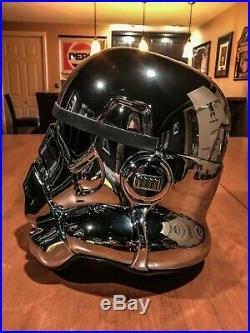 EFX Star Wars 40th Anniversary Chrome Stormtrooper Helmet Celebration 2017 #130