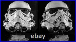 EFX Star Wars 40th Anniversary Stormtrooper Chrome Helmet ARTIST PROOF RARE