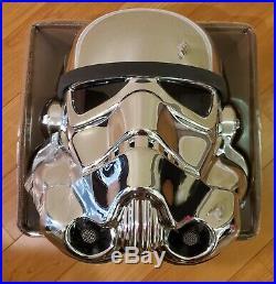 EFX Star Wars Chrome Stormtrooper Helmet 40th Anniversary Celebration ANH 11