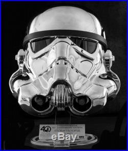 EFX Star Wars Chrome Stormtrooper Helmet Celebration 2017 40th Exclusive 35/500
