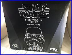 EFX Star Wars Chrome Stormtrooper Helmet Celebration 2017 Exclusive ARTIST PROOF