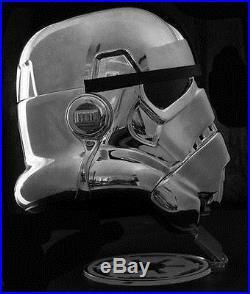 EFX Star Wars Chrome Stormtrooper Helmet Celebration 2017 Exclusive LE 500 40th
