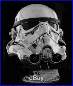 EFX Star Wars Chrome Stormtrooper Helmet Star Wars Celebration 2017 LE 500