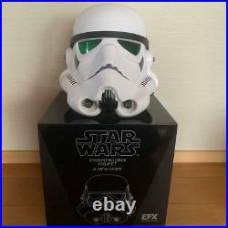 EFX Star Wars Stormtrooper 1/1 Life Size Replica Helmet From JAPAN Used Tracking
