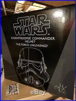 EFX Star Wars The Force Unleashed Stormtrooper Commander Helmet
