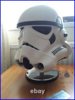 EFX Star Wars stormtrooper HELMET 1/1 full size LE 457 / 500 limited edition