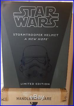 Efx Star Wars A New Hope Stormtrooper Hero Helmet 11 Artist Proof 500 Made New