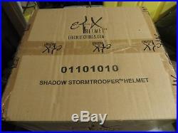 Efx Star Wars Shadow Stormtrooper Helmet Black 11 Mib Just Like Master Replicas