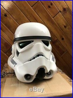 Efx Starwars Stormtrooper Le Helmet Fiberglass Not Master Replicas