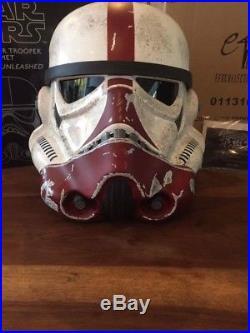 Efx Stormtrooper Incinerator Helmet Helm Replica the Force Unleashed Star Wars