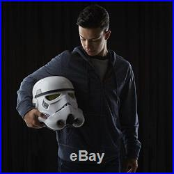 Electronic Voice Changer Helmet The Black Series Imperial Stormtrooper Collector