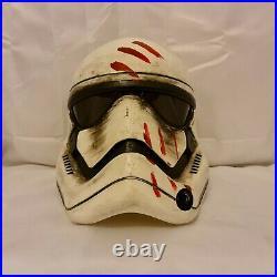 Finn Star Wars Force Awakens Stormtrooper Custom Adult Helmet Painted