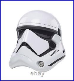 First Order Stormtrooper Helmet Star Wars Black Series Electronic Helmet In Hand