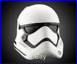 First Order Stormtrooper Helmet Star Wars Force Awakens ANOVOS
