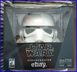 Full Size Master Replicas 30th Anniversary Stormtrooper Helmet Mint in Box