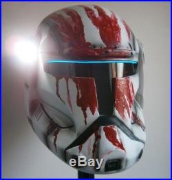 Full size Republic Commando helmet Sev RC-1207 star wars costume stormtrooper