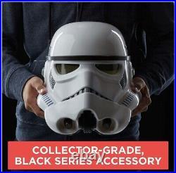 HASBRO Star Wars The Black Series Stormtrooper Premium Electronic Helmet