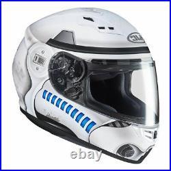 HJC CS-15 Storm Trooper Motorcycle Helmet Licensed Star Wars Crash Lid Helmet