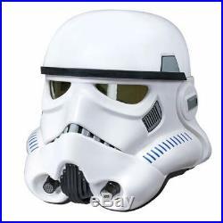 Hasbro Black Series Star Wars Stormtrooper Full Adult Size Voice Changer Helmet