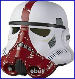 Hasbro Star Wars Black Series Incinerator Stormtrooper Electronic Helmet New