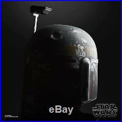 Hasbro Star Wars The Black Series Boba Fett Premium Electronic Helmet pre order