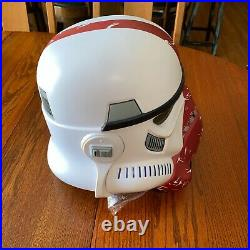 Hasbro Star Wars The Black Series Incinerator Stormtrooper Electronic Helmet