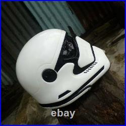 Helmet Custom Star Wars Stormtrooper For Motorcycle (APPROVED DOT/ECE)