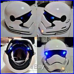 Helmet Star wars stormtrooper dot approved motorcycle