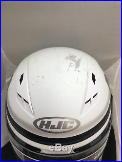 Hjc Cs-r3 Star Wars Storm Troopers Motorcycle Helmet X-large Free Silver Shield