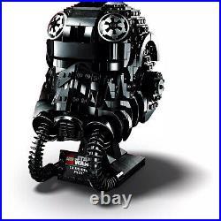 IN HAND SHIPS FAST LEGO Star Wars TIE Fighter Pilot Helmet Building Kit 75274