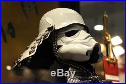 Japan SAMURAI Yoroi Armor Kabuto x STAR WARS STORM TROOPER Mask Helmet Sengoku