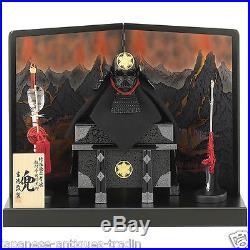Japanese SAMURAI Yoroi Armor Kabuto x STAR WARS Darth Vader Mask Helmet Doll
