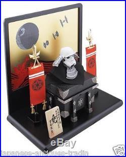 Japanese SAMURAI Yoroi Armor Kabuto x STAR WARS STORM TROOPER Mask Helmet Doll