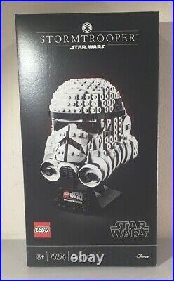 LEGO 75276 Star Wars Stormtrooper Helmet Display Building Set, Advanced